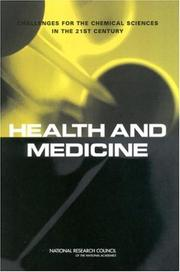 Cover of: Health and Medicine | National Research Council.