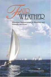 Cover of: Fair Weather by National Research Council.