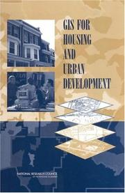 Cover of: GIS for Housing and Urban Development by National Research Council.