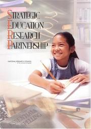 Cover of: Strategic Education Research Partnership by National Research Council.