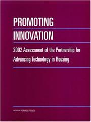 Cover of: Promoting Innovation by National Research Council.
