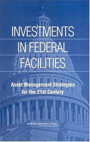 Cover of: Investments in Federal Facilities | National Research Council.