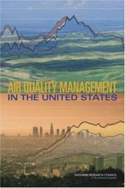 Cover of: Air Quality Management in the United States | National Research Council.