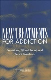 Cover of: New Treatments for Addiction | National Research Council.