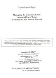 Cover of: Managing the Columbia River | National Research Council.