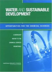 Cover of: Water and Sustainable Development by National Research Council.