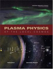 Cover of: Plasma Physics of the Local Cosmos | National Research Council.