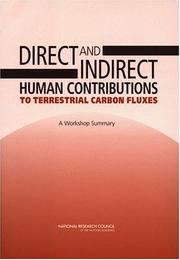 Cover of: Direct and Indirect Human Contributions to Terrestrial Carbon Fluxes by National Research Council.