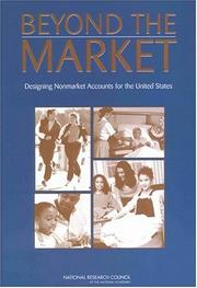 Cover of: Beyond the Market | National Research Council.