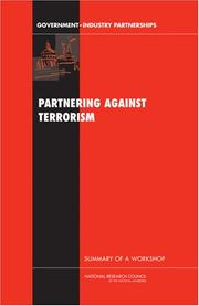 Cover of: Partnering Against Terrorism | National Research Council.