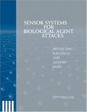 Cover of: Sensor Systems for Biological Agent Attacks | National Research Council.