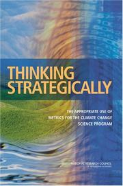 Cover of: Thinking Strategically by National Research Council.