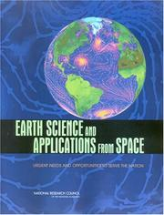 Cover of: Earth Science and Applications from Space | National Research Council.
