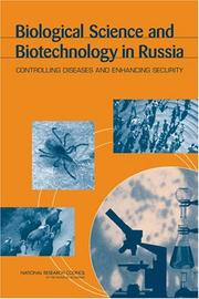 Cover of: Biological Science and Biotechnology in Russia | National Research Council.
