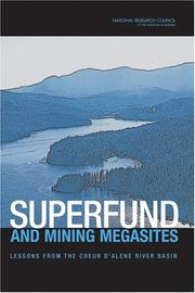 Cover of: Superfund and Mining Megasites by National Research Council.