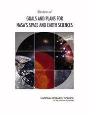 Cover of: Review of Goals and Plans for NASA's Space and Earth Sciences by National Research Council.