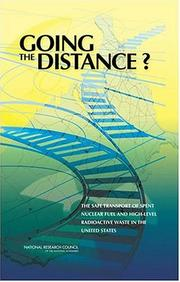 Cover of: Going the Distance? | National Research Council.