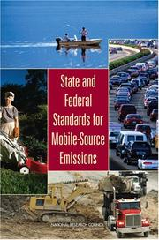 Cover of: State and Federal Standards for Mobile-Source Emissions | National Research Council.