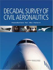 Cover of: Decadal Survey of Civil Aeronautics by National Research Council.