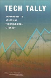 Cover of: Tech Tally by National Research Council.