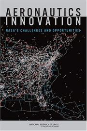 Cover of: Aeronautics Innovation by National Research Council.
