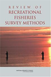 Cover of: Review of Recreational Fisheries Survey Methods by National Research Council.
