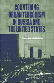 Cover of: Countering Urban Terrorism in Russia and the United States | National Research Council.