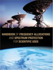 Cover of: Handbook of Frequency Allocations and Spectrum Protection for Scientific Uses by National Research Council.