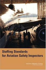 Cover of: Staffing Standards for Aviation Safety Inspectors by National Research Council.