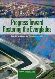 Cover of: Progress Toward Restoring the Everglades by National Research Council.