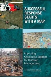 Cover of: Successful Response Starts with a Map | National Research Council.