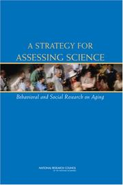 Cover of: A Strategy for Assessing Science by National Research Council.