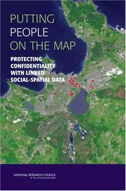 Cover of: Putting People on the Map by National Research Council.