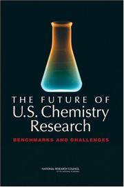 Cover of: The Future of U.S. Chemistry Research | National Research Council.