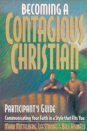 Cover of: Becoming a Contagious Christian Live Seminar Participant's Guide | Lee Strobel