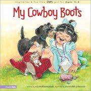 Cover of: My Cowboy Boots (Mothers of Preschoolers (Mops)) | Crystal Bowman