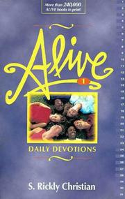 Cover of: Alive! | S. Rickly Christian