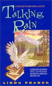Cover of: Talking Rain | Linda French