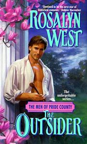 Cover of: The Outsider (The Men of Pride County, No 2) | Rosalyn West