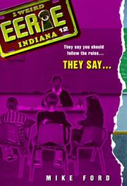 Cover of: They Say (Eerie, Indiana) | Mike Ford