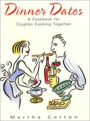 Cover of: Dinner dates by Martha Cotton