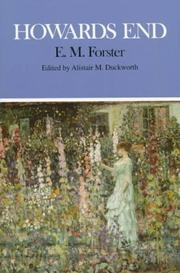 Cover of: Howards End (Case Studies in Contemporary Criticism (Paper)) by E. M. Forster