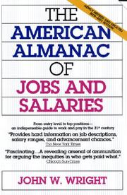 Cover of: The American Almanac of Jobs and Salaries | John W. Wright