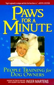Cover of: Paws for a Minute | Inger Martens