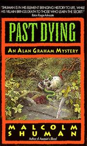 Cover of: Past Dying | Malcolm Shuman