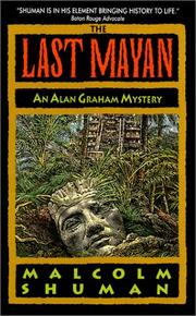 Cover of: The Last Mayan | Malcolm Shuman
