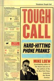 Cover of: Tough call | Mike Loew