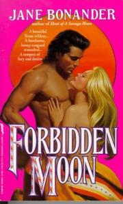Cover of: Forbidden Moon by Jane Bonander