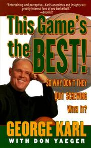 Cover of: This Game's the Best | Don Yaeger