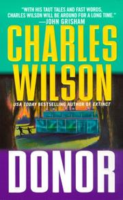 Cover of: Donor | Charles Wilson